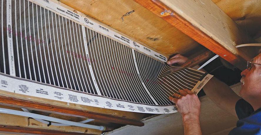 Quietwarmth Floor Heating For Existing Floors